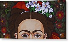 Those Eyebrows Acrylic Print