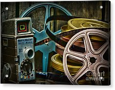 Those Old Movies Acrylic Print by Paul Ward