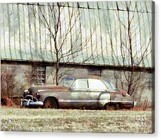 Acrylic Print featuring the photograph Those Were The Days - 49 Buick Roadmaster by Janine Riley