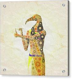 Thoth, God Of Egypt By Mary Bassett Acrylic Print