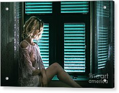 Thoughts And Silences Acrylic Print