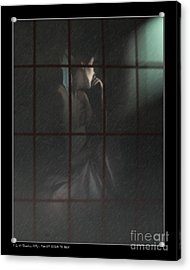 Thoughts Behind The Rain Acrylic Print by Pedro L Gili