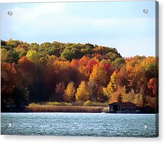 Thousand Island Color Acrylic Print