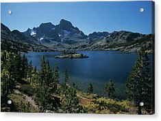 Thousand Islands Lake - Glacier - Mount Davis Jmt Acrylic Print