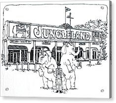 Thousand Oaks Ca Jungleland Acrylic Print