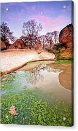 Thracian Sanctuary Acrylic Print by Evgeni Dinev