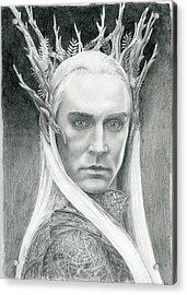 Thranduil The Elven King Of Mirkwood Acrylic Print