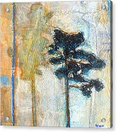 Thread Tree Acrylic Print by Sandrine Pelissier