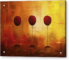 Three Alone But Together Acrylic Print