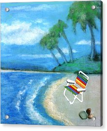 Three Beaches B Acrylic Print