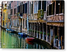 Three Boats Acrylic Print
