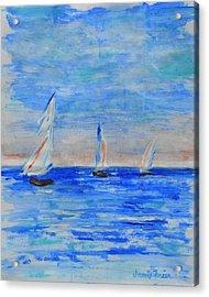 Three Boats Acrylic Print