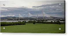 Three Bridges Over The Forth Acrylic Print