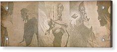 Three Brothers - Combined Acrylic Print by Lisa Leeman
