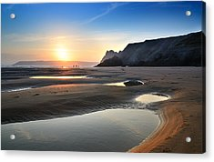 Three Cliffs Bay 2 Acrylic Print
