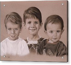 Three Cousins Acrylic Print