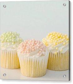 Three Cupcakes Acrylic Print