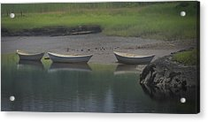 Three Dories Acrylic Print