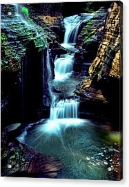 Three Falls Acrylic Print