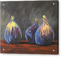 Three Figs Acrylic Print by Torrie Smiley