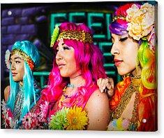 Three Flower Princesses  Acrylic Print