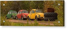 Three For The Road Acrylic Print