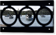 Acrylic Print featuring the photograph Three In One by John Knapko