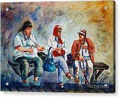 Three In San Diego Acrylic Print by Joyce A Guariglia
