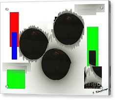 Three Is A Crowd Acrylic Print
