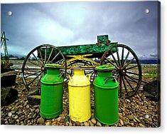 Three Jugs Acrylic Print by Dale Stillman