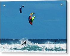 Three Kites Acrylic Print