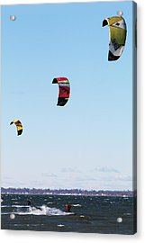 Three Kites Acrylic Print