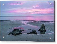 Three Minute Sunrise Acrylic Print