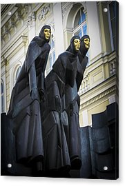 Three Muses - Calliope Thalia And Melpomene Acrylic Print