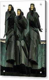 Three Muses Acrylic Print