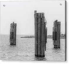 Three Pillars Acrylic Print