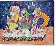 Three Shepherds Acrylic Print