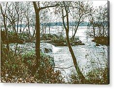 Three Sisters Island Acrylic Print
