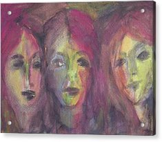 Three Sisters Acrylic Print