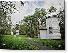Three Sisters Lighthouses Acrylic Print