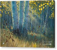 Three Sisters - Spirit Of The Forest Acrylic Print by Rob Corsetti