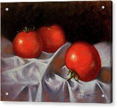Three Tomatoes Acrylic Print