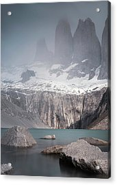Three Towers, Chile Acrylic Print