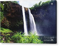 Three Waterfalls Acrylic Print by Peter French - Printscapes