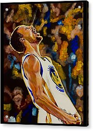 Thrill Of Victory Acrylic Print