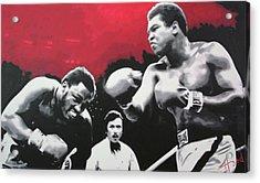Thrilla In Manila Acrylic Print