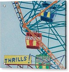 Thrills Acrylic Print