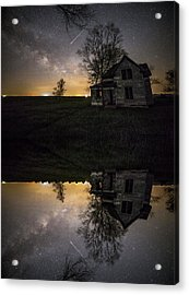 Acrylic Print featuring the photograph Through A Mirror Darkly  by Aaron J Groen