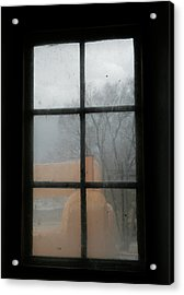 Acrylic Print featuring the photograph Through A Museum Window by Marilyn Hunt