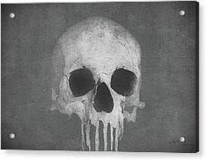 Through Blood Acrylic Print by Joseph Westrupp